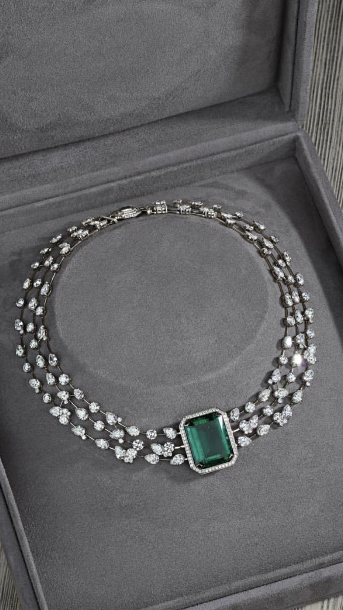 3862e8637c859 Pin by Anycastro on Diamond Jewelry, Emerald,tourmaline, Ruby ...