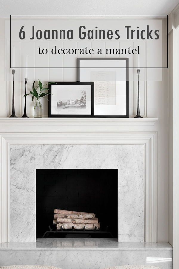 Decorating your Mantel seems like an easy thing to do until you try it. I have some great ideas and tips for you to get the farmhouse style look like Joanna Gaines on your Mantel! I go over how to use a mirror, how to layer and much more! So get the Fixer Upper look now! #Homedecor #Farmhouse #JoannaGaines