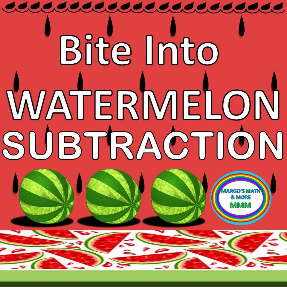 Watermelon Subtraction Subtraction Kindergarten Resources Learning Resources [ 960 x 960 Pixel ]