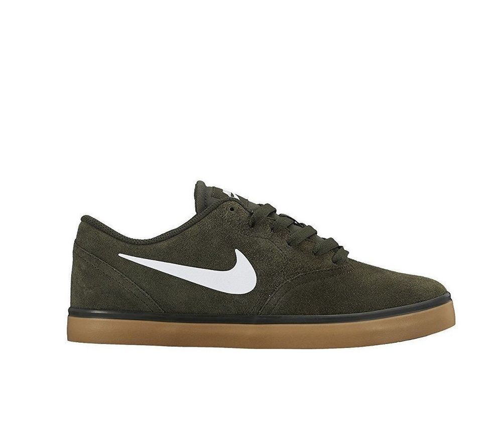 new styles 105ea e9593 Nike SB Check Solarsoft Skateboarding Shoes Mens 10.5 Sequoia Gum 705265  312  Nike  Skateboarding