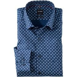 Photo of Olymp Luxor shirt, modern fit, under-button-down, red, 39 Olymp