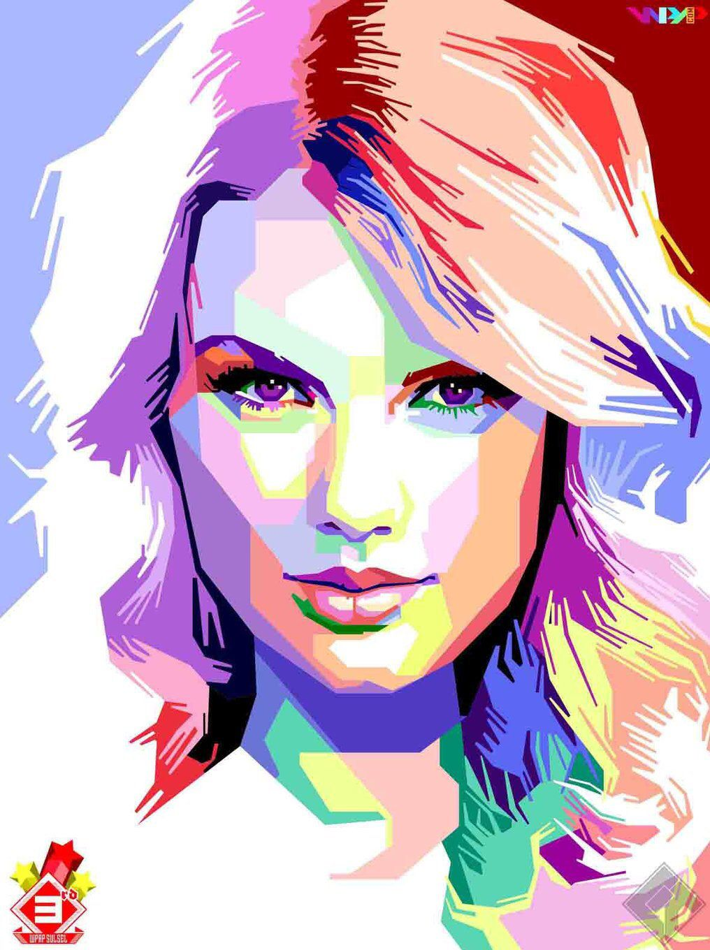 Taylor Swift Popart Glossy Art Print 8x10 Inches A4 Individually Numbered By Giftsnbobs On Etsy Https Www Etsy Com Listi Wpap Art Pop Art Portraits Pop Art