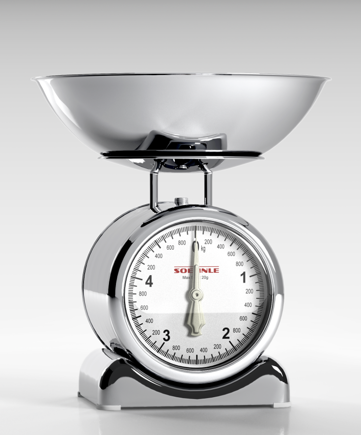 Silvia Analogue Kitchen Scale By Soehnle