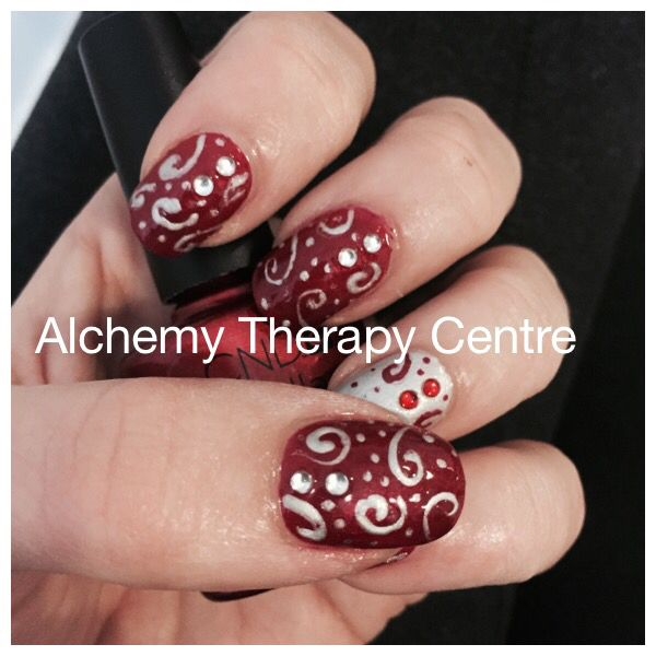 Swirly Nailart Www Alchemytherapycentre Com Nail Art Nails