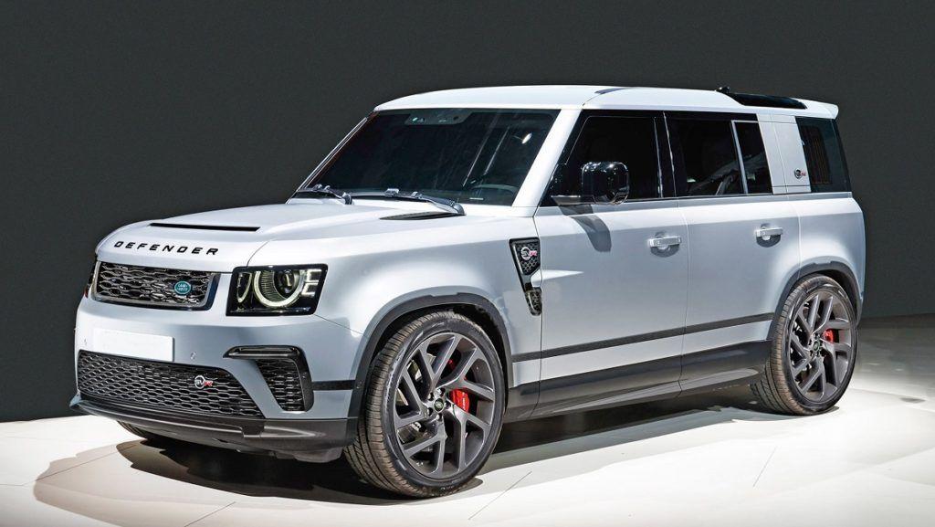 2021 Land Rover Defender Svr Could Use The Bmw S Powertrain New Land Rover Defender New Land Rover Land Rover Defender