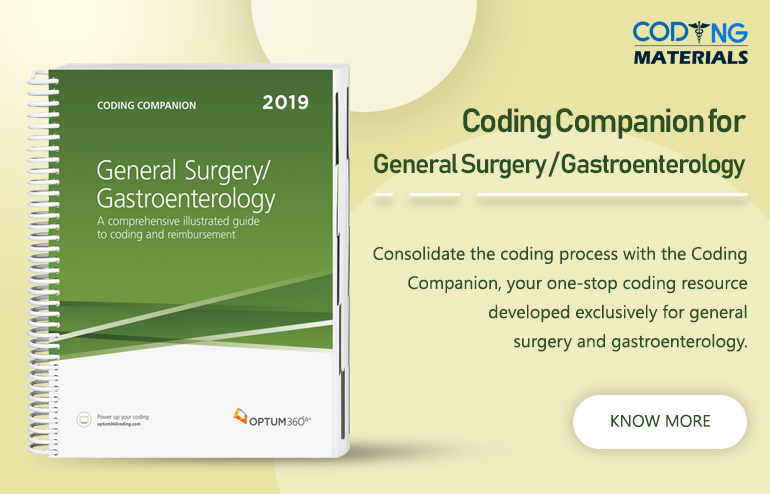 Coding Companion For General Surgery Gastroenterology 2019 Medical Coding Jobs Medical Coder Coding