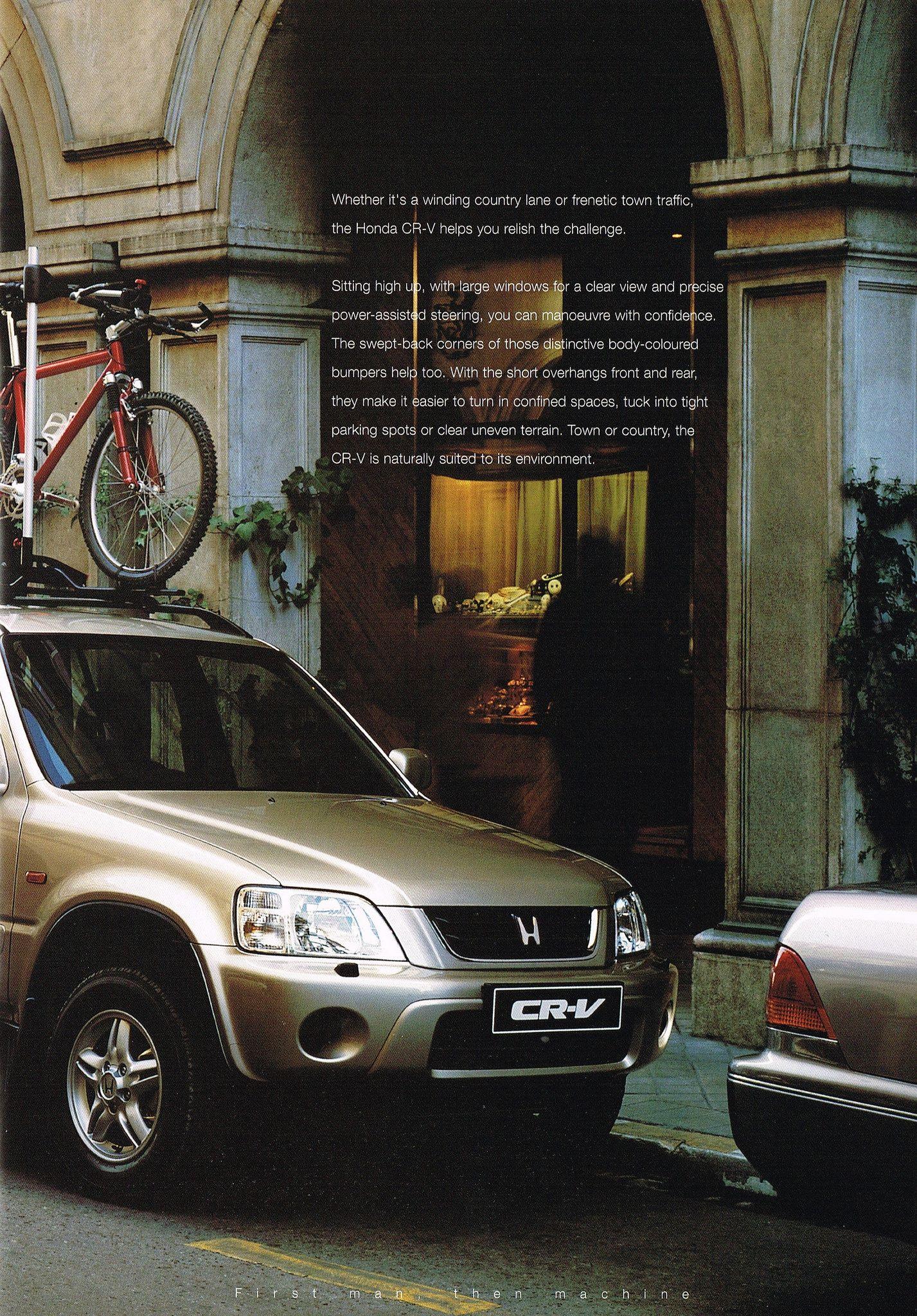 Honda CR V Mk1 UK Brochure 1999 Pinterest