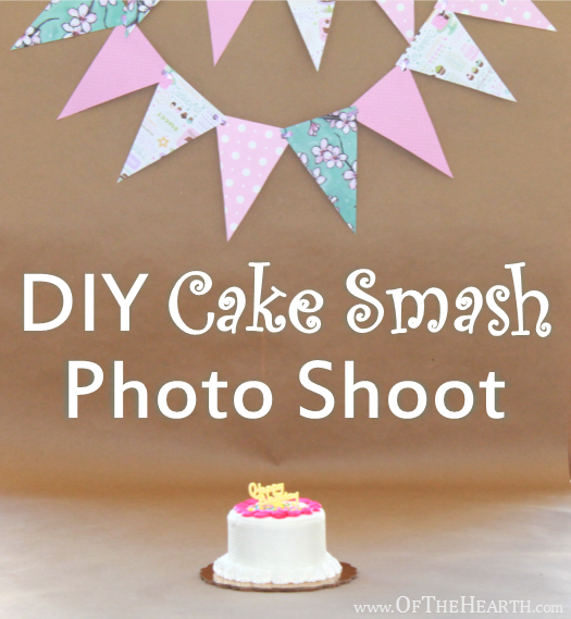 DIY Cake Smash Photo Shoot | Diy cake smash, Cake smash and Birthdays