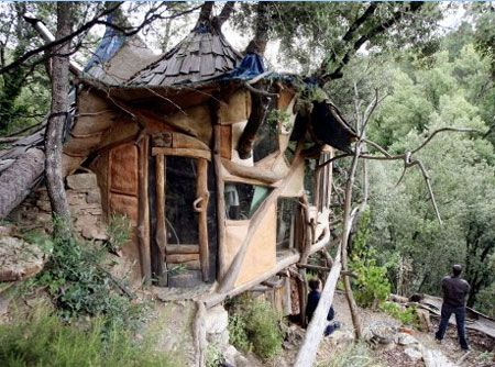 Architecture - Old Treehouse Natural Design Pinterest Cabanes