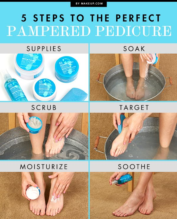 How To Diy The Perfect At Home Pedicure In 10 Easy Steps
