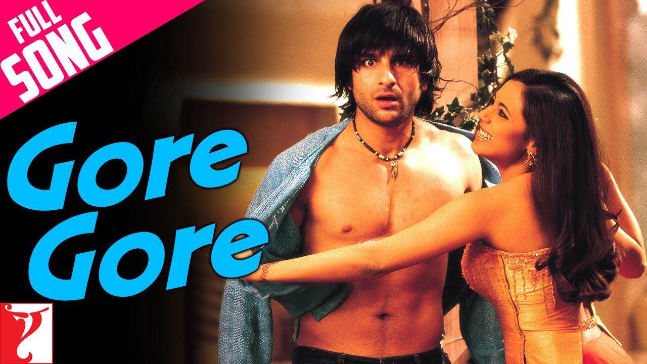 Gore Gore Full Song Hum Tum Saif Ali Khan Rani Mukerji Alka Yagnik Youtube Bollywood Dance Songs Best Wedding Songs