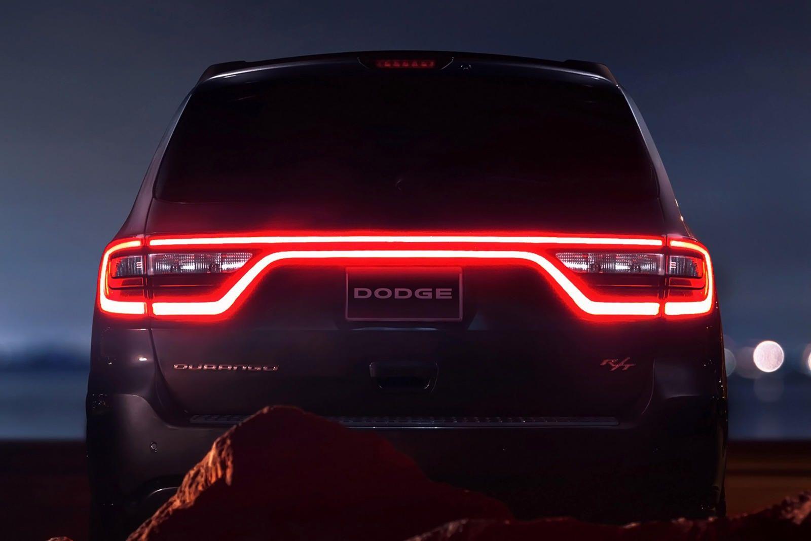 20142020 Dodge Durango R/T Rear View Photo in 2020