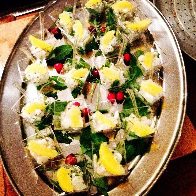 Ceviché de pétoncle aux agrumes ! #funkyfoodies #fun