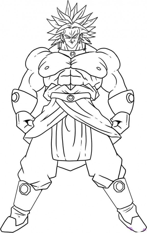 Dibujos De Dragon Ball Super Para Colorear Dibujos Para Colorear Coloreartv Com Dibujo De Goku Como Dibujar A Goku Dibujos De Dragon