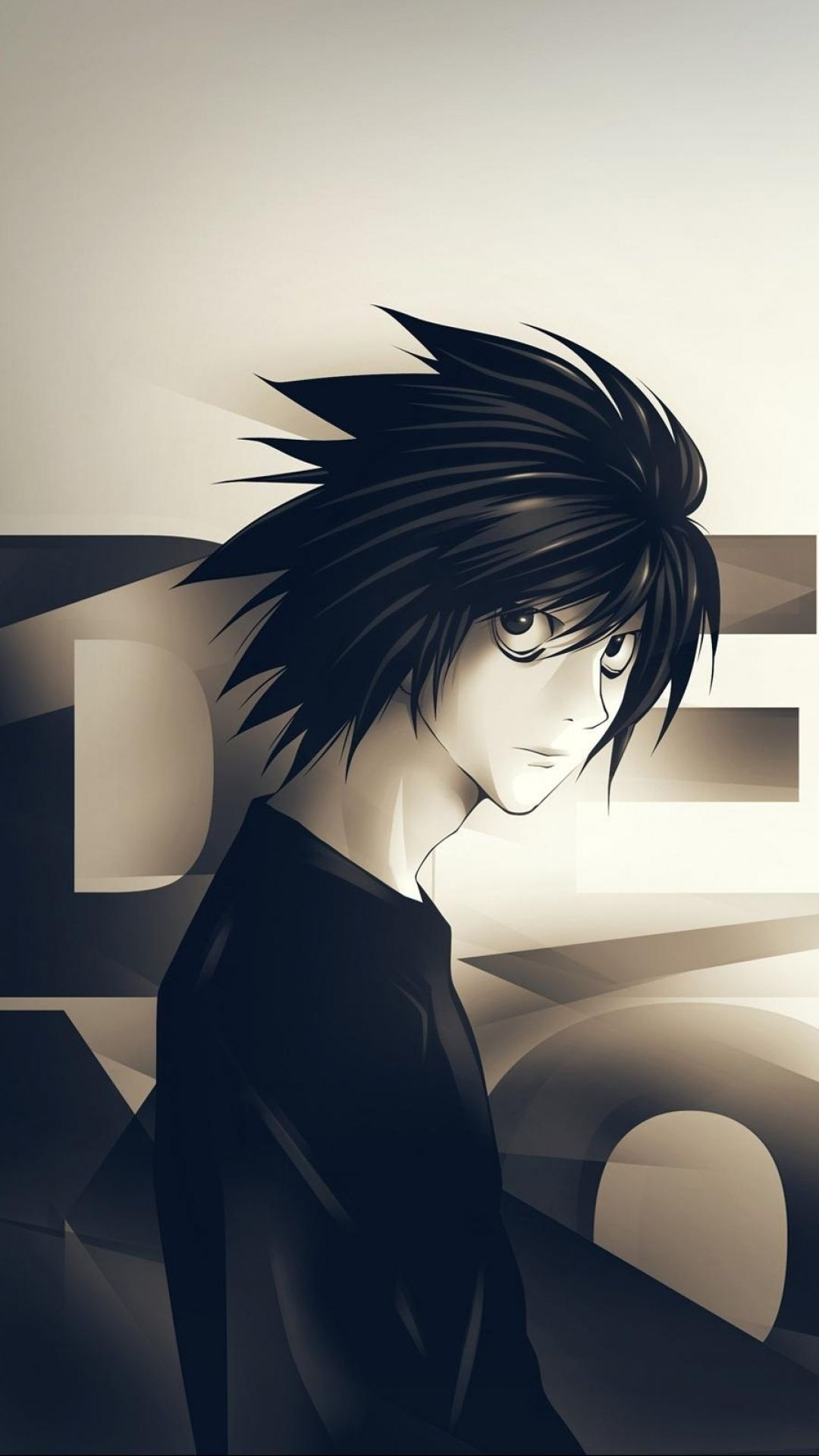 L Lawleit Deathnote L Death Note Manga Death Note Wallpaper