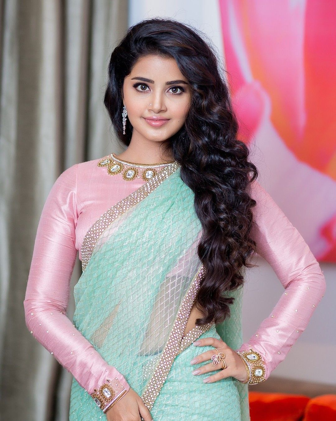 Anupama Parameshwaran | Indian beauties | Pinterest | Saree, Indian ...