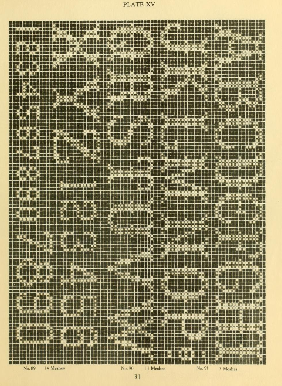 The new filet crochet book; original designs wh... | Cusături ...