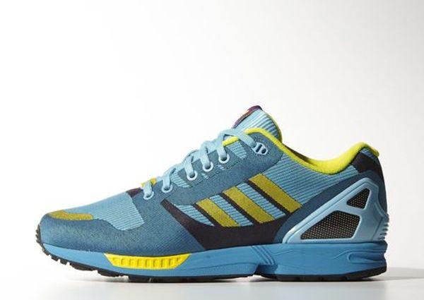 Adidas Zx Flux Aqua Available Now Kixandthecity Com Woven Shoes Adidas Zx Flux Fresh Sneakers