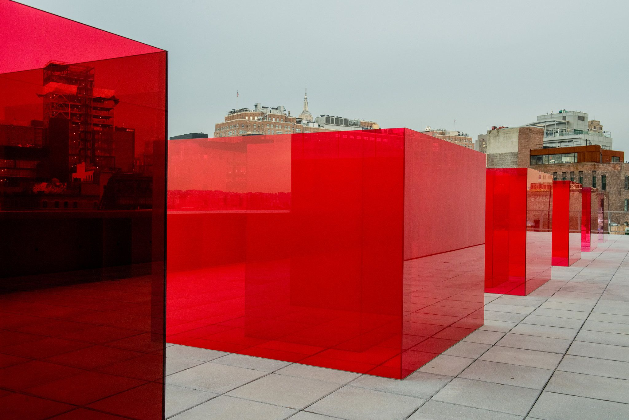 A users guide to the whitney biennial red architecture