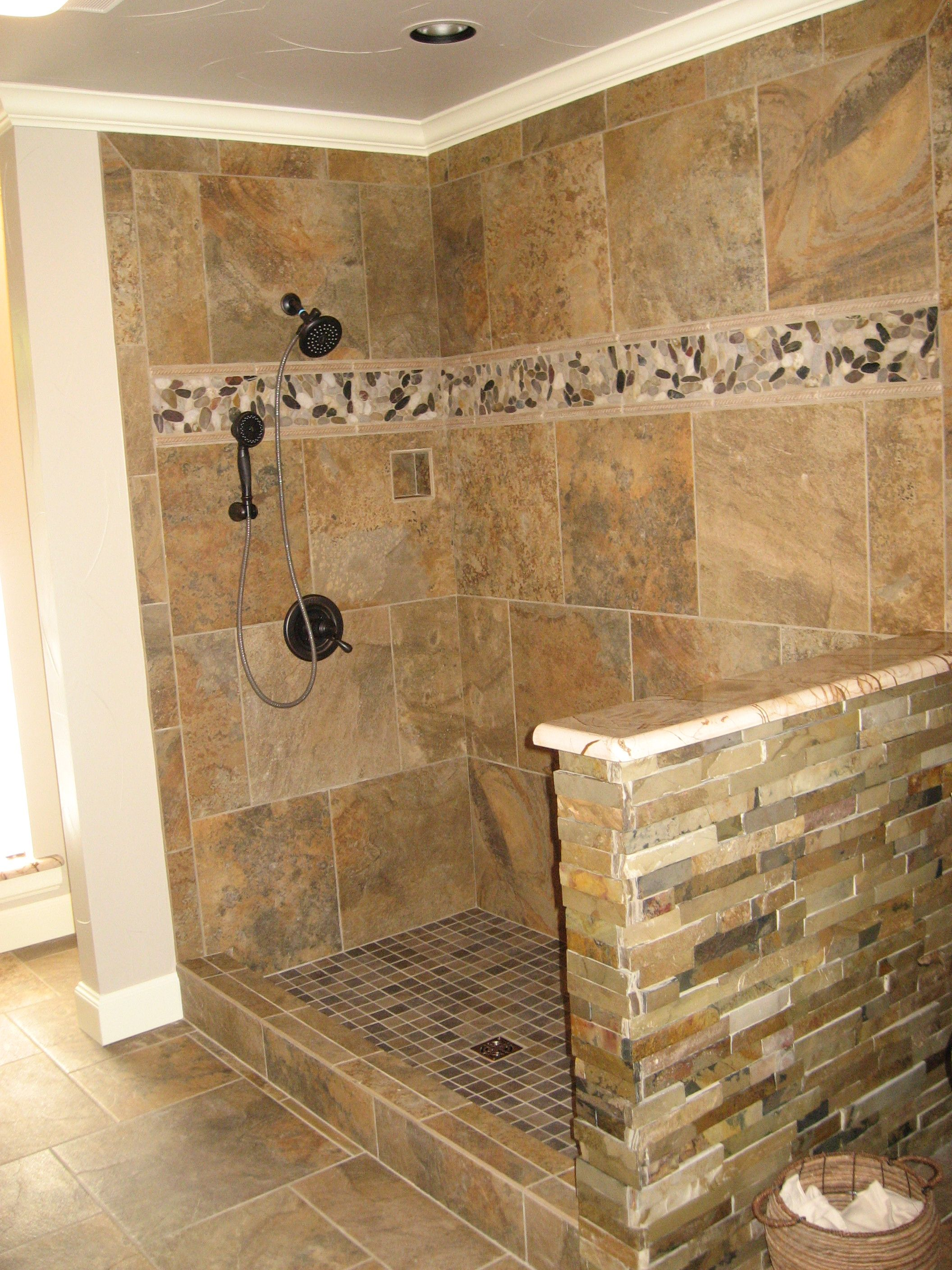 The stone accent band adds a touch of rustic - as does the stacked ...