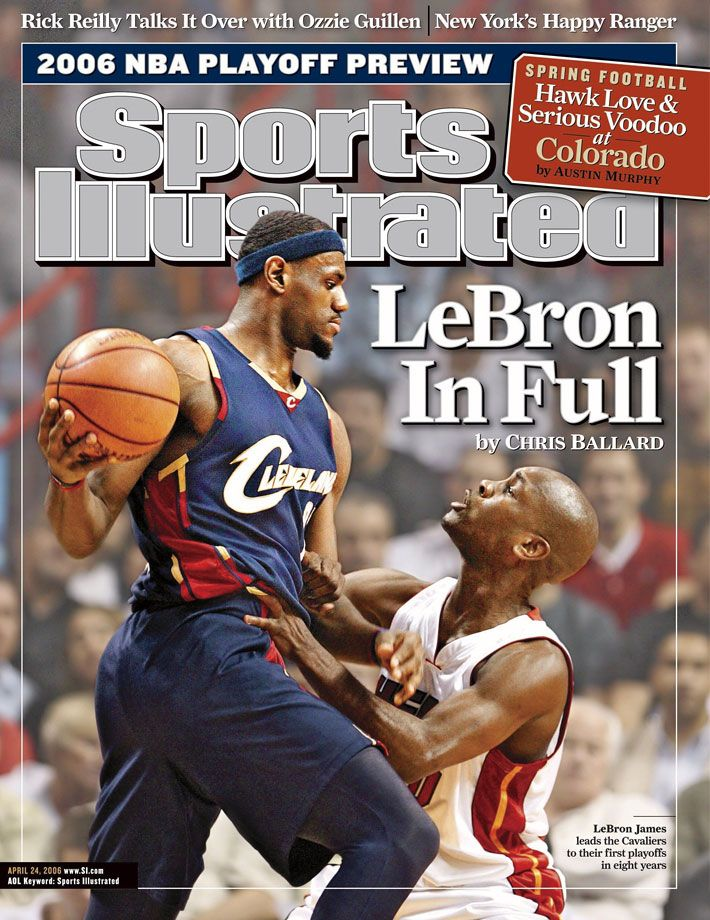 aac519a9866 LeBron James SI Covers | lbj | Sports, Lebron James, Lebron james ...
