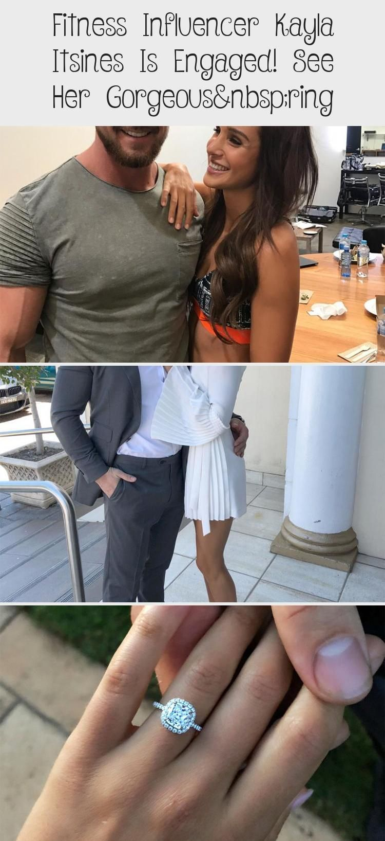 Most up-to-date Photos Fitness Influencer Kayla Itsines Is Engaged! See Her Gorgeous Ring #weddingri...