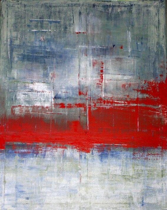 2010 - 100 x 80 cm - Acryl auf Leinwand , Abstrakte, Kunst, Abstrakt ...
