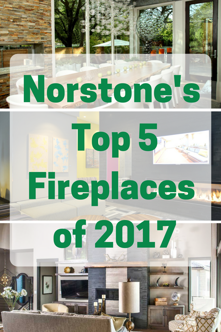 We took a look back at the stone fireplaces we featured on our blog