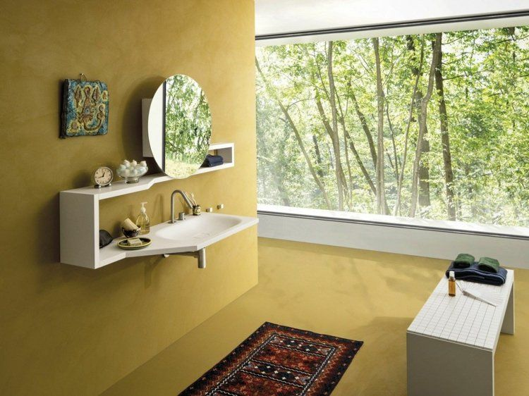 Badezimmer Waschbecken U2013 29 Beispiele Mit Modernem Design #badezimmer # Beispiele #design #modernem