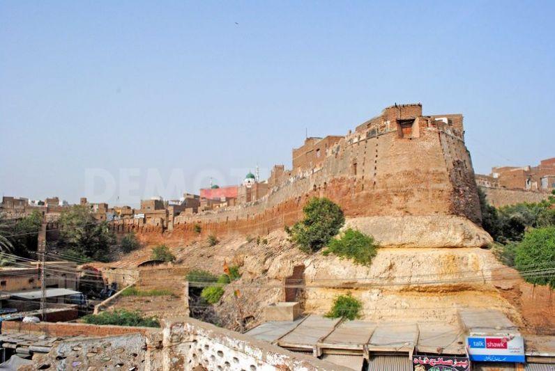 Neran Kot Fort or Hyderabad Fort, Sindh Pakistan - United