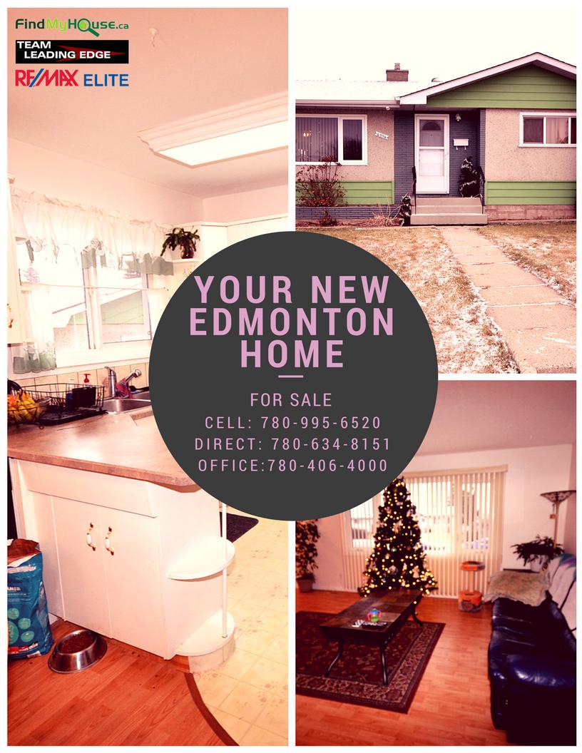 EDMONTON HOMES FOR SALE 6016 131a Avenue