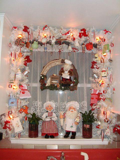 amazing kitchen christmas garland | Kitchen Garland | Winter Holidays | Christmas, Christmas ...