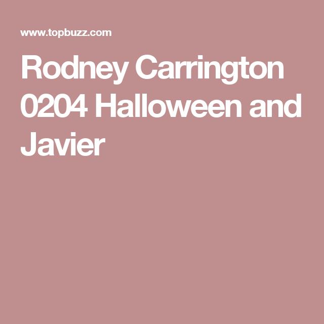 Rodney Carrington 0204 Halloween and Javier
