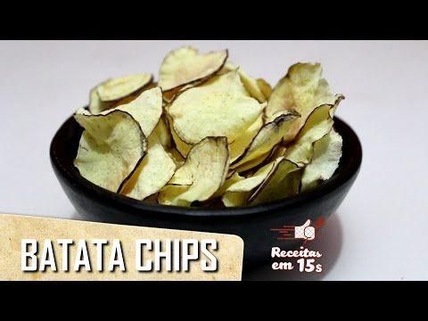 Batata Chips em 15 segundos - YouTube