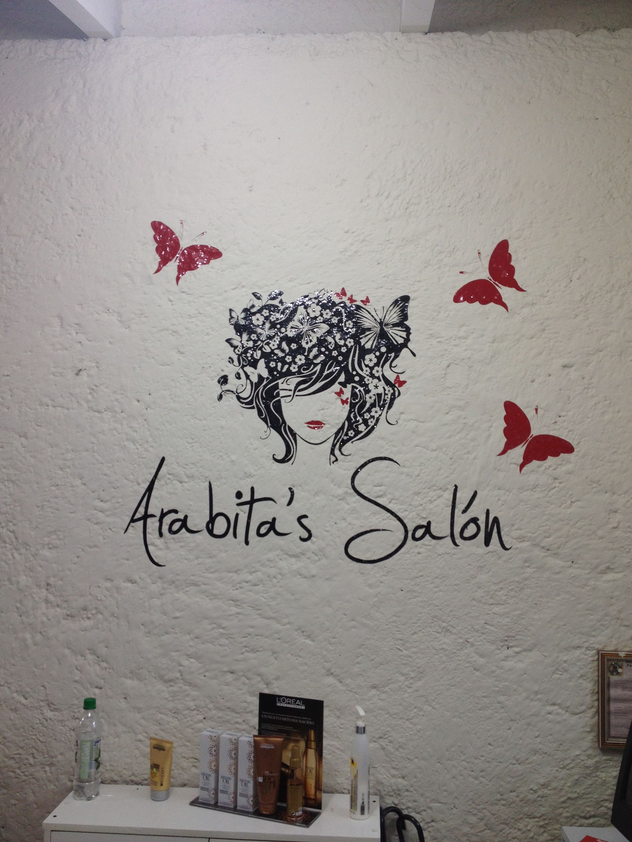 Vinilos Salon De Belleza Stilos De Salones Pinterest Belleza - Decoracion-vinilos-salon