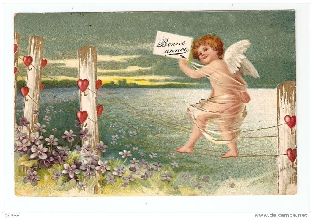 bonne année ange - Delcampe.net