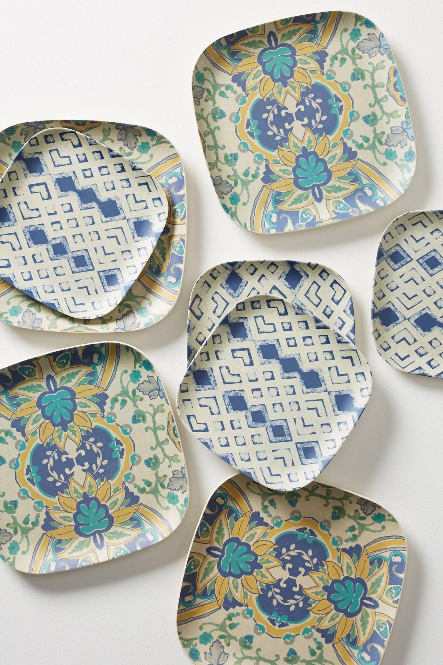 Bamboo Dinner Plate Set Dinner Plate Sets Plate Sets Plates