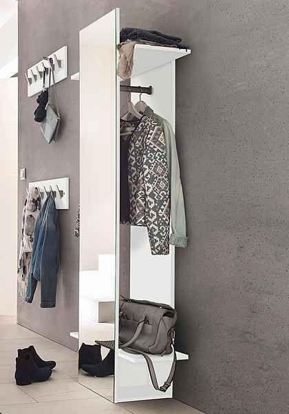 Garderobenpaneel »Beli« mit Spiegel - spiegel für schlafzimmer