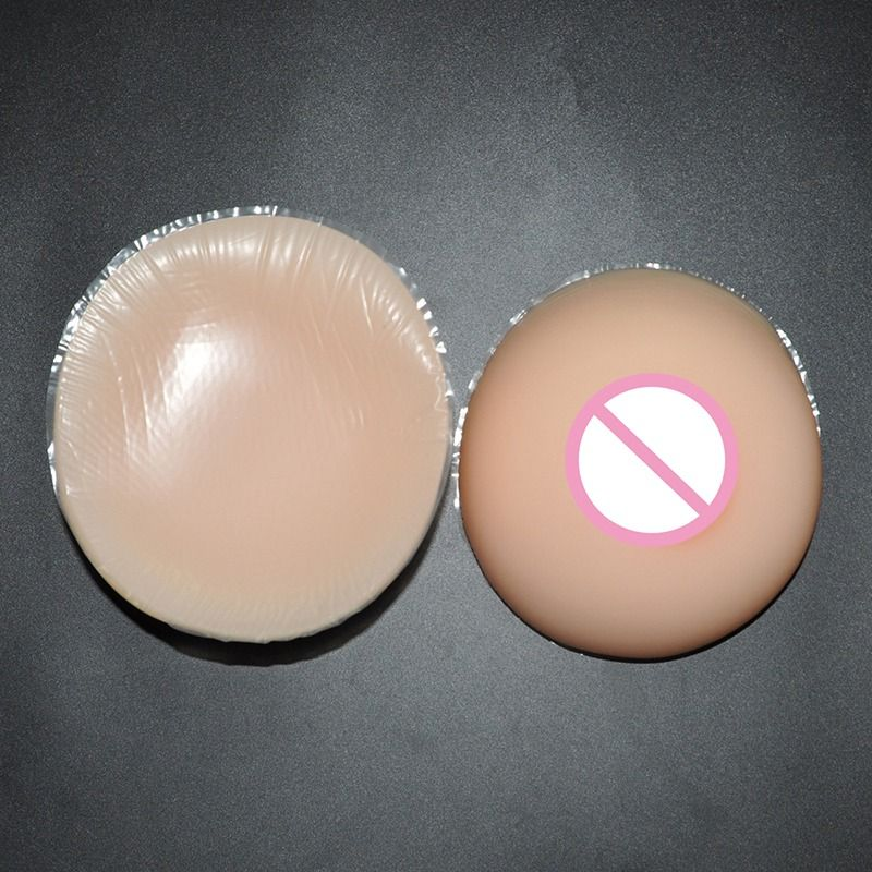 63ab80f431a 3200g pair Silicone Artificial Breast Drag Queen Fake Breast Enhancers  Shemale Transgender and Crossdressing Breast