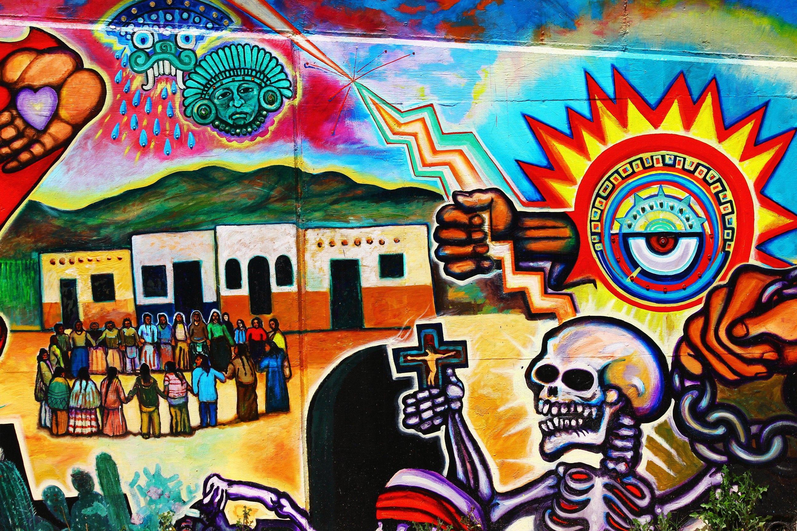 Sango Street Art Chicano Park Murals Via Canon D Tokidoki