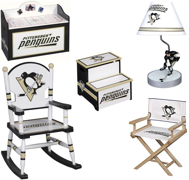 Pittsburgh Penguins Kids Furniture 5 Pieces Nhl Furniture Set For Kids Ups Free Shipping