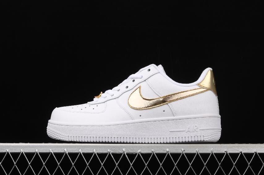 Black Friday Nike Air Force 1 Low White Gold Dc2181 100 In 2020 Nike Air Force Nike Air Nike