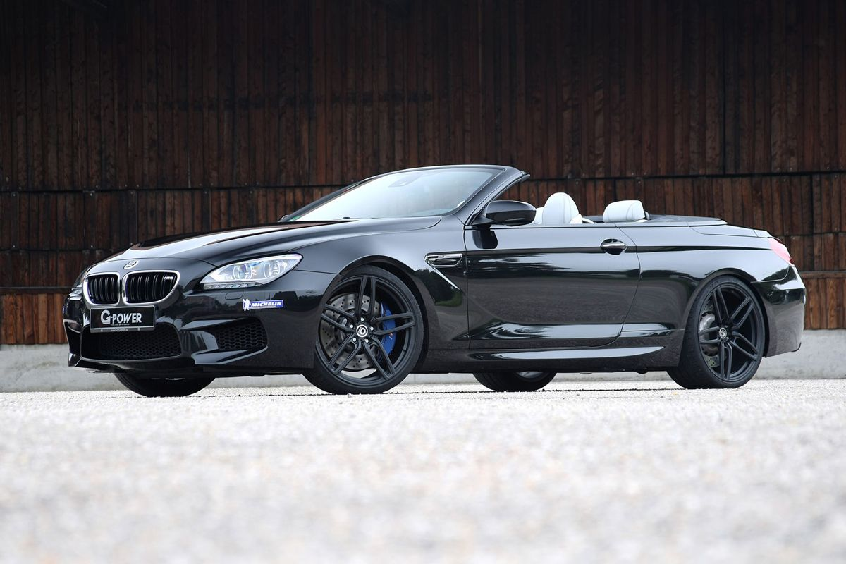 Drop The Top And Up The Power With The G Power M6 Bmw M6 Bmw