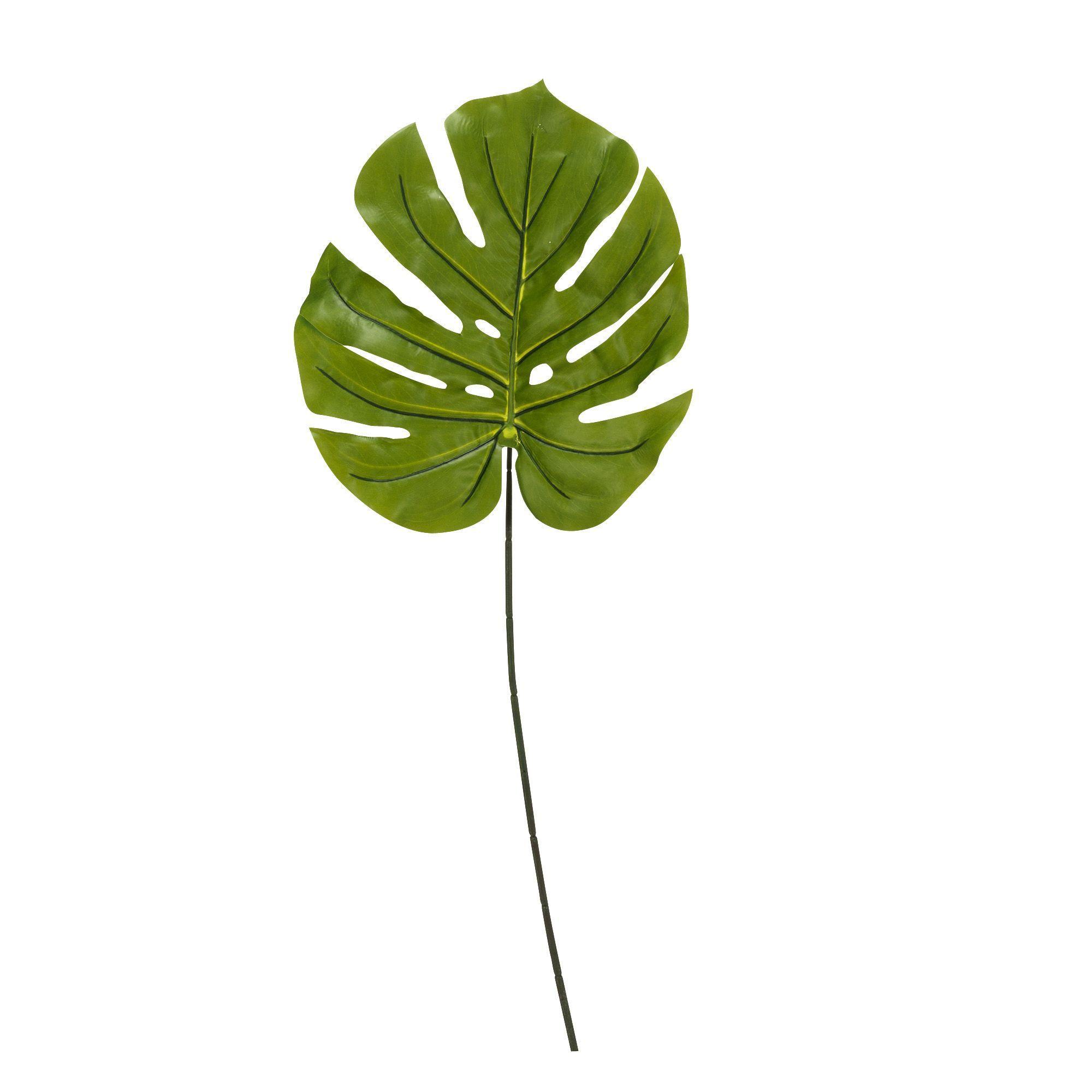 Feuille de philodendron artificielle H100cm - Palme - Plantes ...