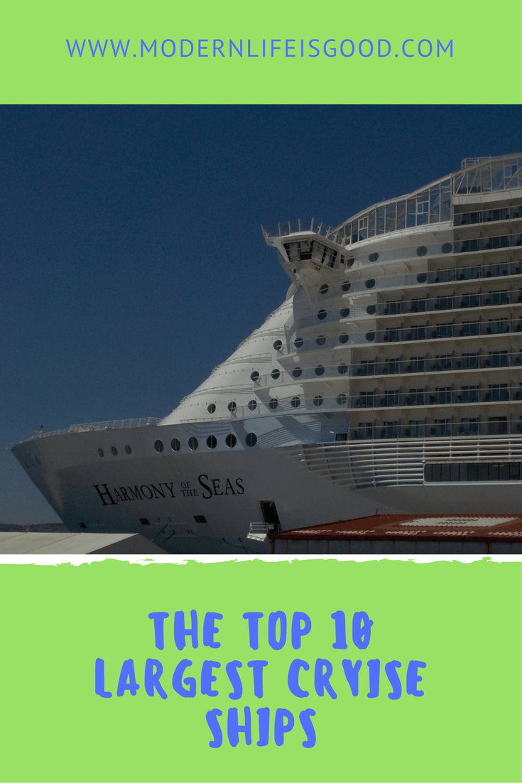 The Largest Cruise Ships In The World They Are Turning Into - Cruise ship turns over