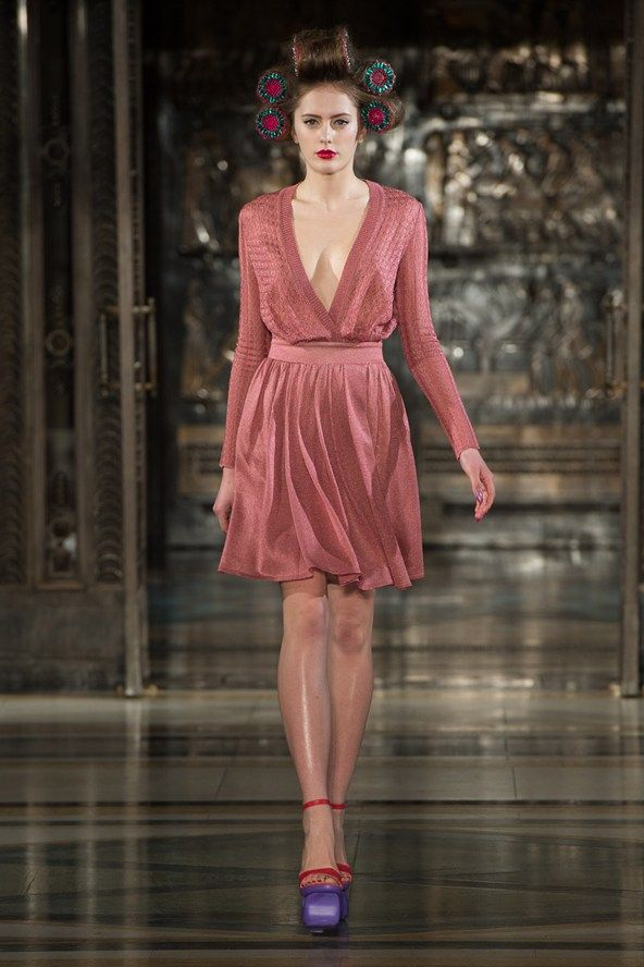 Ekaterina Kukhareva London fashion Week 2013
