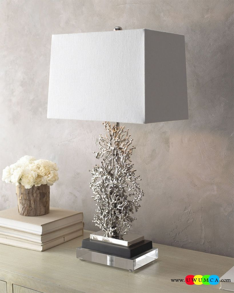 Decoration:Diy Coral Lamp Shade Coral Light Pendant Fixture Color ... for Diy Table Lamp Base  110zmd