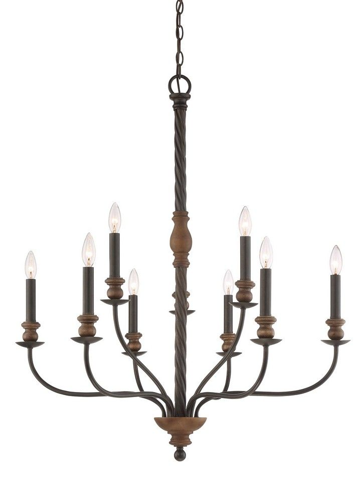 Canadalightingexperts Odell Nine Light Extra Large 2 Tier Foyer