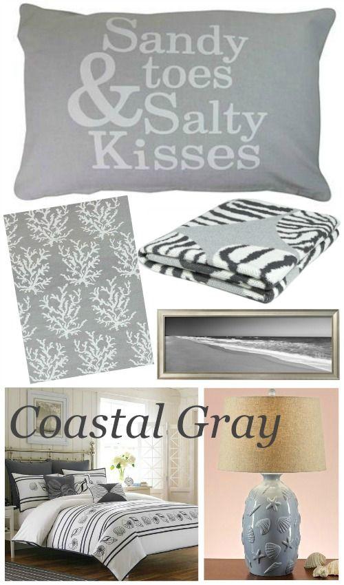 Photo of Coastal Beach Gray Bedroom Ideas | Shop the Look