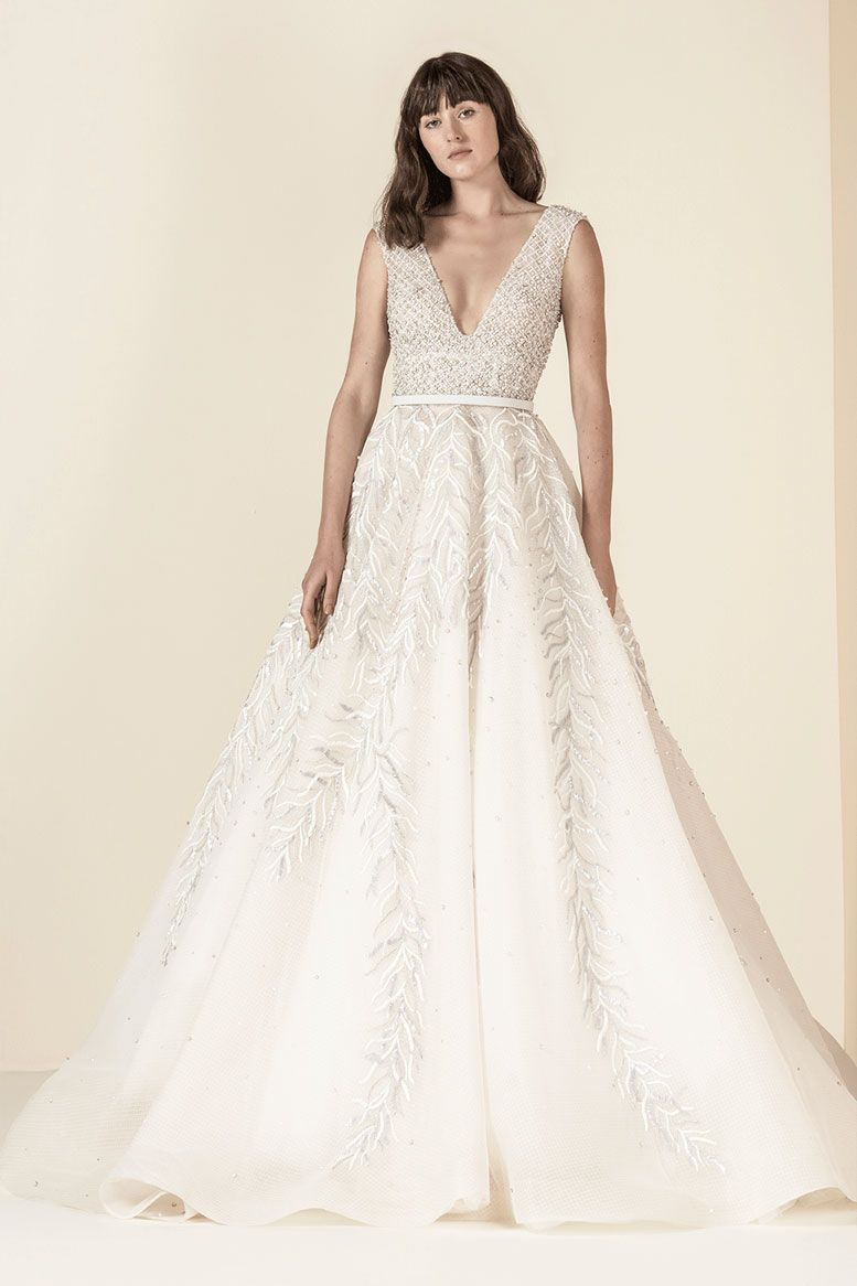 SAIID KOBEISY Wedding Dresses 2019 - Spring 2019 Bridal Collection Bridal Wedding Dresses #weddingdress #weddinggown #weddingdresses #bridalgown